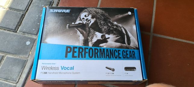 Shure PG4 / PG 58 mikrofon bezprzewodowy