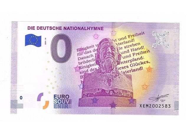 0 euro Die Deutsche Nationalhymne 2020-14