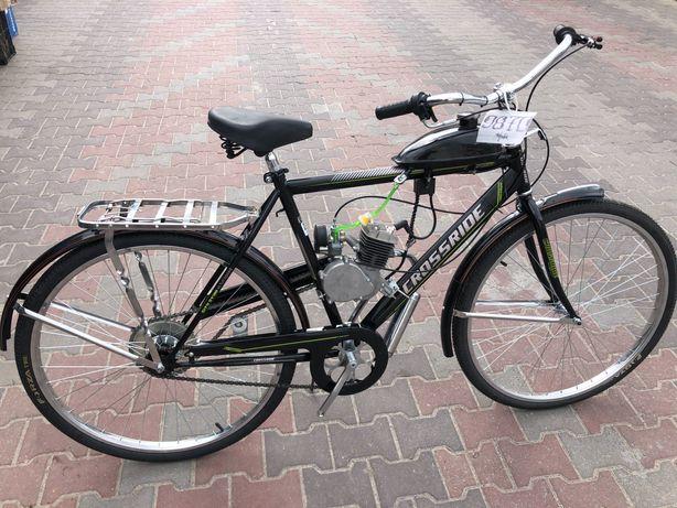 """Новий велосипед з бензиновим мотором """"Crossbike MOTO"""""""