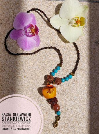 Wisior autorski biżuteria energetyczna dorje, amulet
