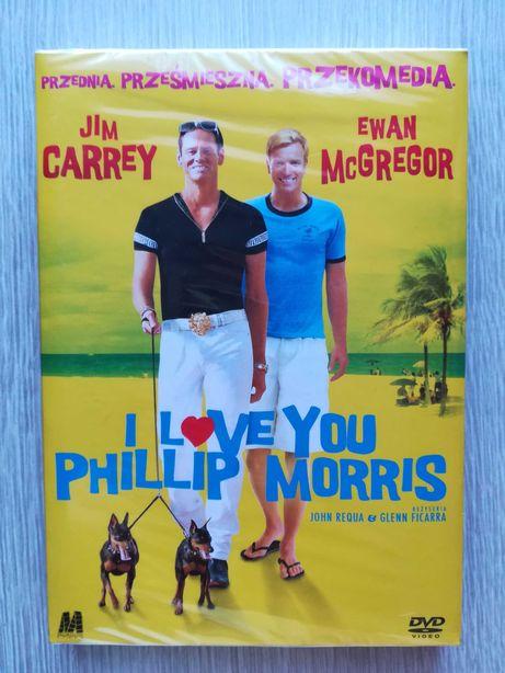 I love you Phillip Morris Film DVD nowy folia