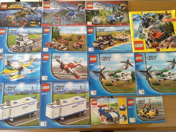 Vários Catálogos LEGO