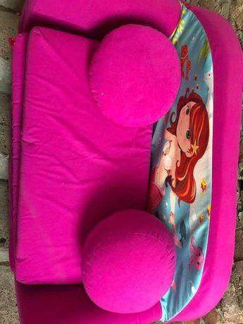 Fotel z gąbki rozkładany