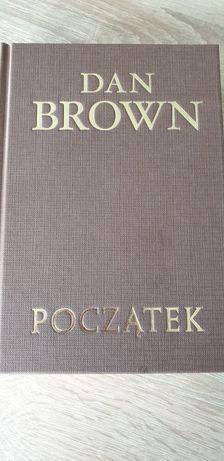POCZATEK D. BROWN twarda okładka ksiazka nowa