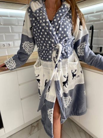 Теплые халаты