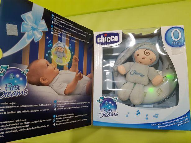 Chicco, Muzyczny księżyc, niebieski, zabawka interaktywna
