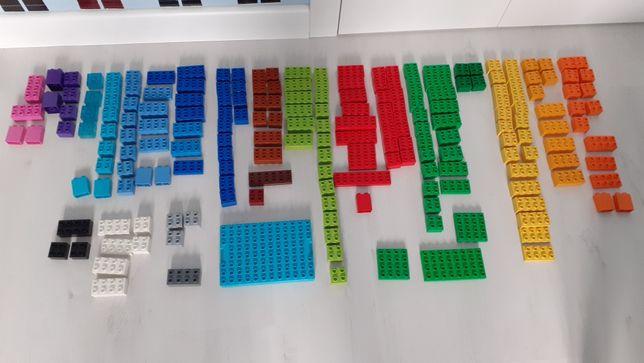 Lego DUPLO 340 elementów obrazki okienka klocki ponad 3 kg