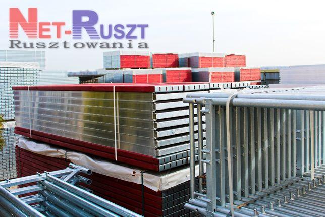 Rusztowanie - 117,5 m2 typu Plettac na podestach drewnianych 3 m