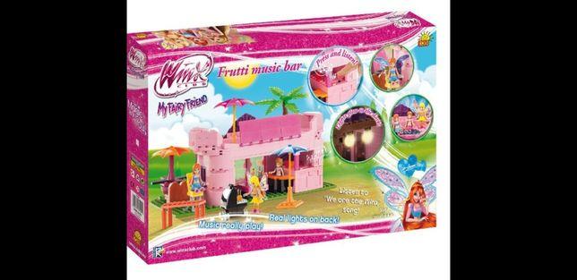 Mega zestaw klocki Cobi - Winx Tutti Frutti music bar 400 klocków Lego