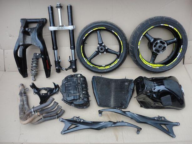 Honda CBR 1000 rr 08 вилка колесо амортизатор радиатор штаны подрамник