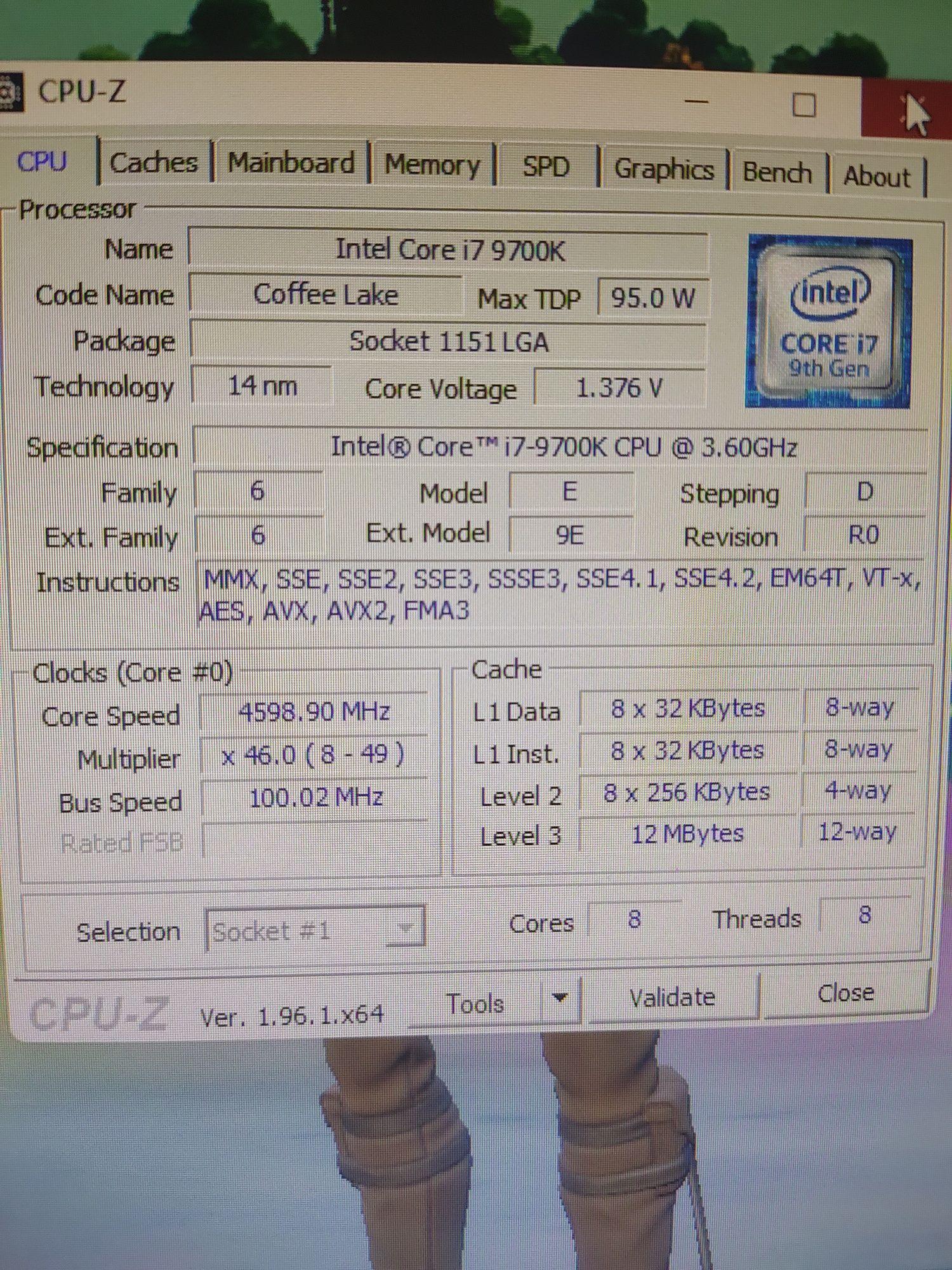 Vendo i7 9700k com motherboard h310 e 16g ram