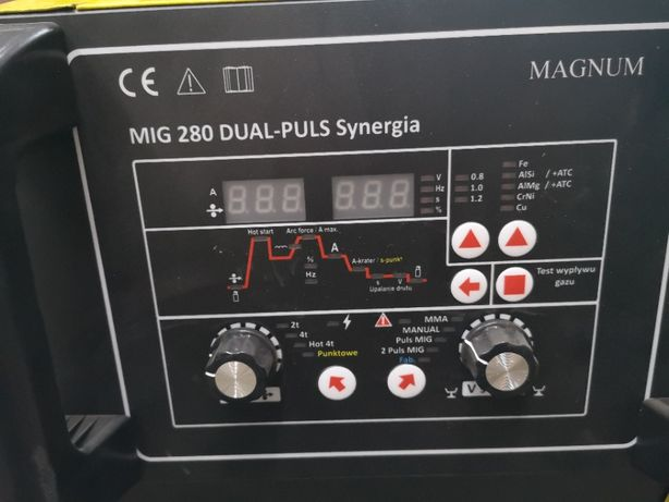 Mig 280 DUAL-PULS Synergia