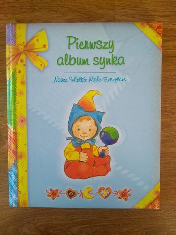 Sprzedam Pierwszy album synka , nowy, książkę, dla dziecka