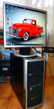Komputer do gier -Intel i.3 -540 Turbo 4x3,5 Ghz + GeForce GT.210
