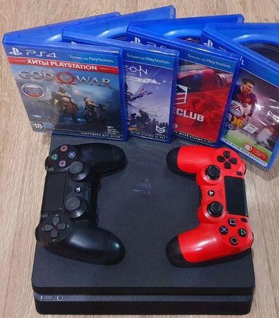 Продам, PS4 slim 1 ТВ с комплектом