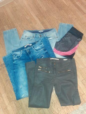 Zamienię spodnie dżinsy damskie rozmiar S