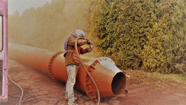 Sodowanie Szkielkowanie piaskowanie aluminium cegły drewna stali domów