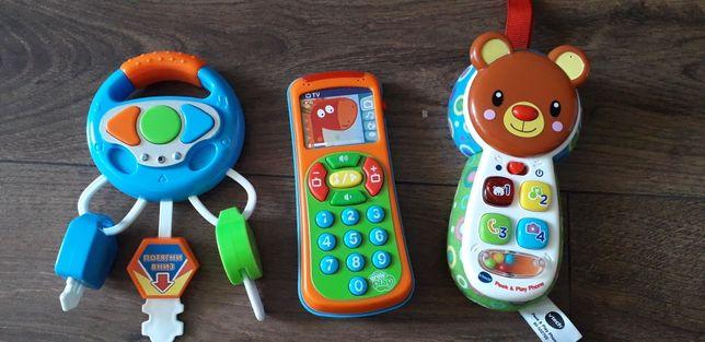 По 100 грн за телефони,  30 грн - ключі
