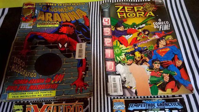 Lote de Revistas da Marvel e  de outros Super Heróis