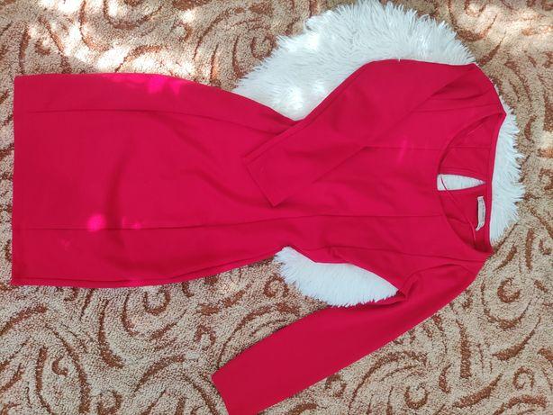 Красное платье..