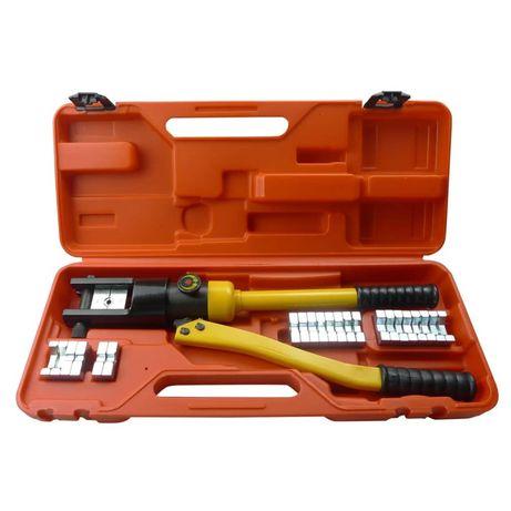 vidaXL Alicate de cravar hidraulico 140122