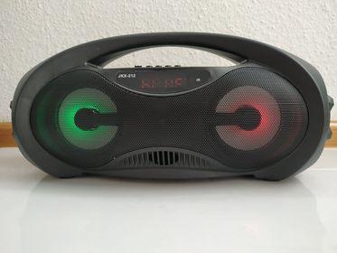 Głośnik bezprzewodowy radio sd usb karaoke LED BLUETOOTH