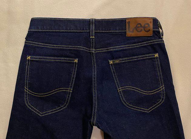 Lee W29 L32 Luke jeasny męskie M S granatowe W30 L30 slim fit