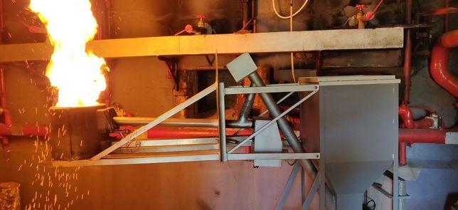 Queimador pellets biomassa