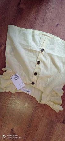 Bluzka bluzeczka H&M 86/92 lato NOWA!