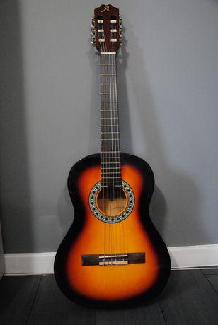 Gitara Akustyczna Alvera ACG100 3/4 SB + pokrowiec i samouczek