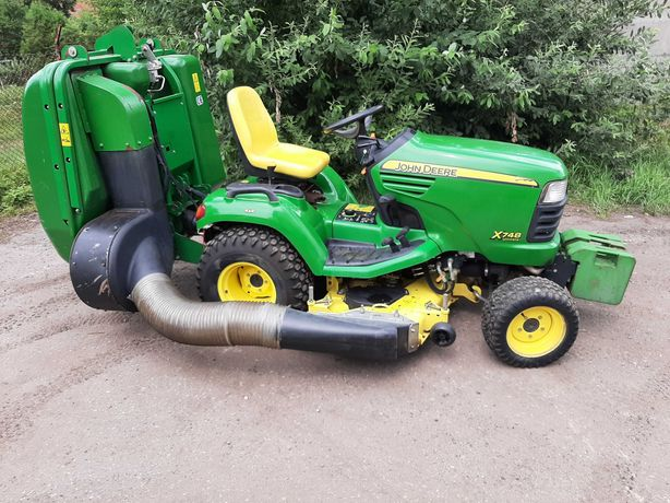 Traktorek Kosiarka John Deere x748 Ultimate 4x4