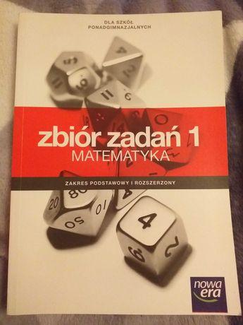 Zbiór zadań 1, Matematyka, Nowa Era, szkoły ponagimnazjalne