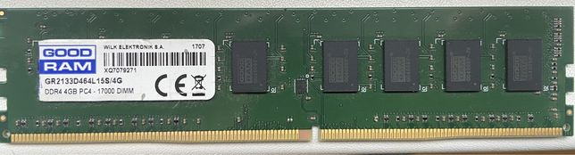 Память GOOD RAM DDR4, PC4 - 1700 DIMM. 1x4Gb.