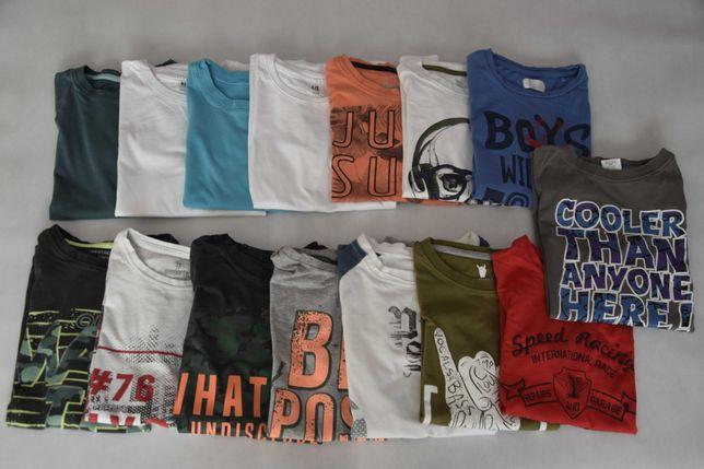 Paka ubrań dla chłopca - koszulki / T-shirt rozmiar 146/152 – 15 szt.