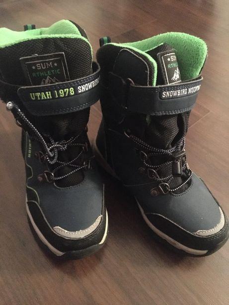 Зимние ботинки. мальчик. Р.30