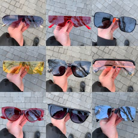 АКЦИЯ 1+1=3 ! Очки женские Celine Dior LV Versace Gucci Balenciaga