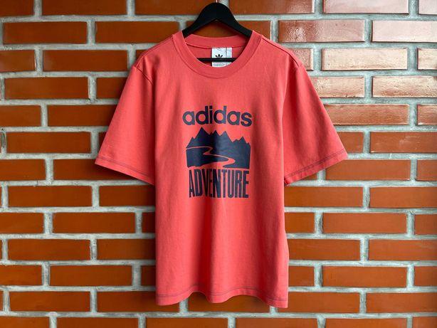 Adidas Оригинал мужская футболка размер M L адидас Б У