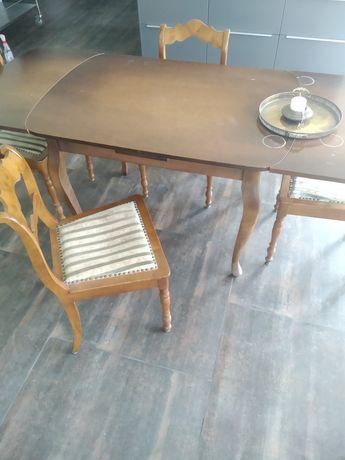Stół+4 krzesła 1000