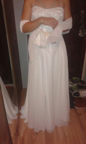 Suknia ślubna r. 38