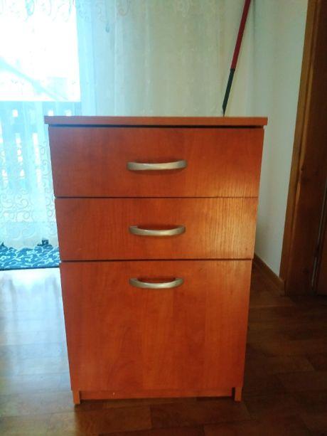 Nakastlik szafka nocna komoda szafka salon sypialnia jasny brąz