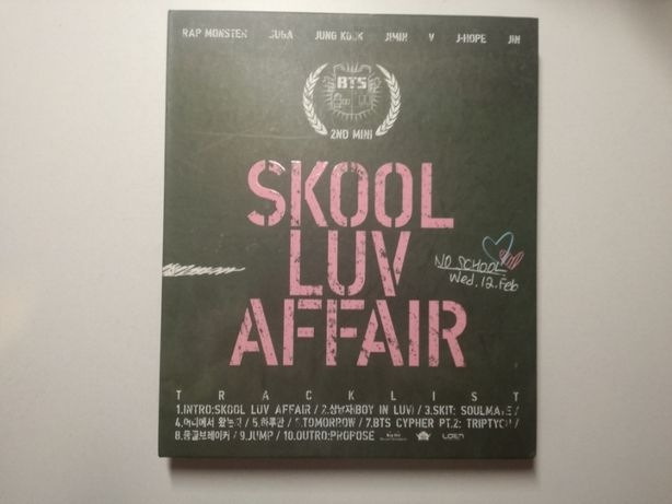 Bangtan Boys BTS Skool Luv Affair