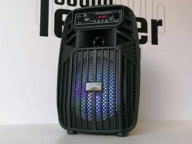Głośnik TWS bluetooth karaoke radio budowlane odtwarzacz kolumna