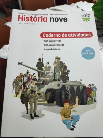 Caderno de atividades história 9º