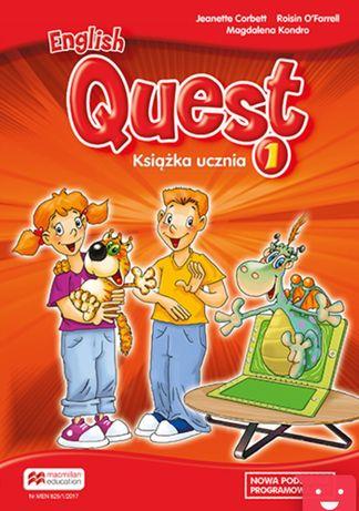 English Quest 1 NOWY Podręcznik angielski