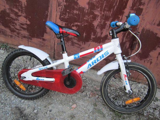 Детский велосипед унисекс алюминиевый 16 дюймов, от 4 до 7 лет.