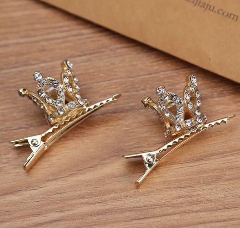 Корона/заколка для волос/украшение/прикрас/золото/серебро