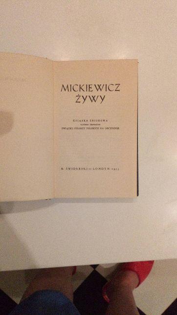 Mickiewicz żywy Związku Pisarzy Polskich na Obczyźnie