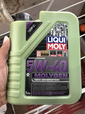 Liqui Moly 5W-40 Molygen (new generation) продам масло