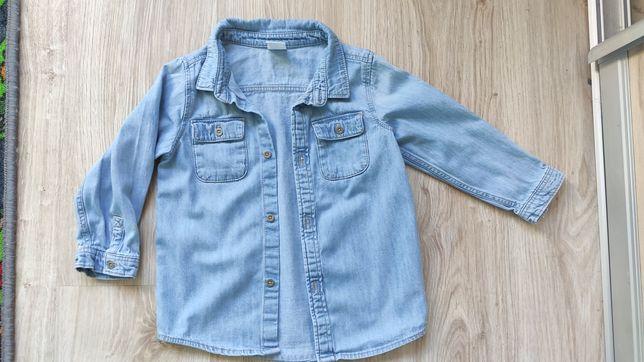 Koszula jeansowa dziewczynka 92
