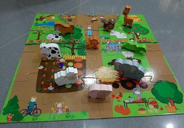 Puzzle + Animais